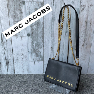 マークジェイコブス(MARC JACOBS)のMARC JACOBS マークジェイコブス ダブルテイク 黒 ブラック ゴールド(ショルダーバッグ)