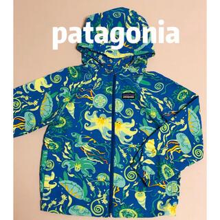 patagonia - patagonia 5T ウィンドブレーカー パタゴニアキッズ 110 120