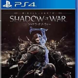 PlayStation4 - シャドウ・オブ・ウォー PS4