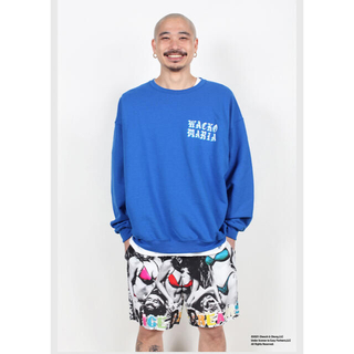 WACKO MARIA - ワコマリア 21SS CREW NECK SWEAT SHIRT m