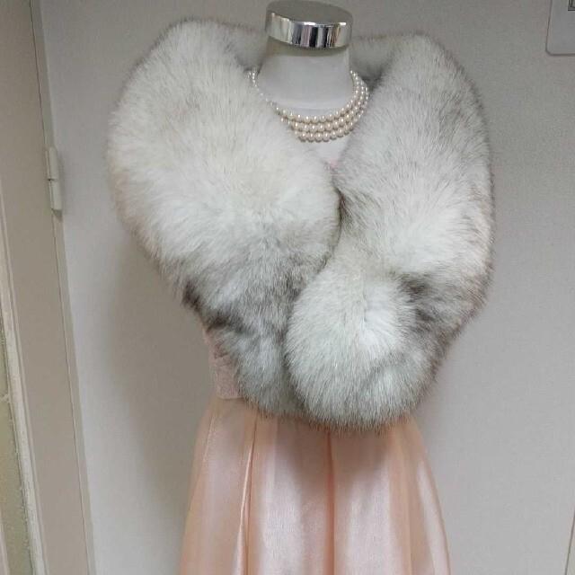 サガフォックス 平野様 レディースのファッション小物(マフラー/ショール)の商品写真