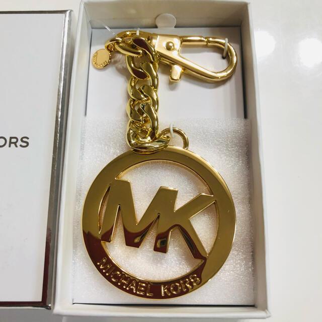 Michael Kors(マイケルコース)の大人気 新品未使用 マイケルコース キーホルダー ゴールド レディースのファッション小物(キーホルダー)の商品写真