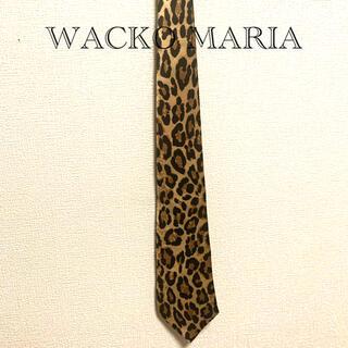 WACKO MARIA - WACKO MARIA 豹柄ネクタイ ワコマリア