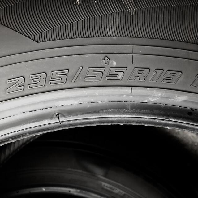 トヨタ(トヨタ)の【RAV4 adventure 純正タイヤ 235/55R19 4本 美品】 自動車/バイクの自動車(タイヤ)の商品写真