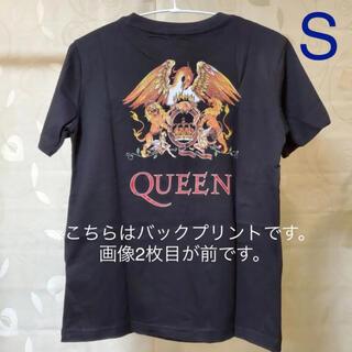 ジーユー(GU)の◆ GU QUEEN グラフィックT ブラック レディース S(Tシャツ(半袖/袖なし))
