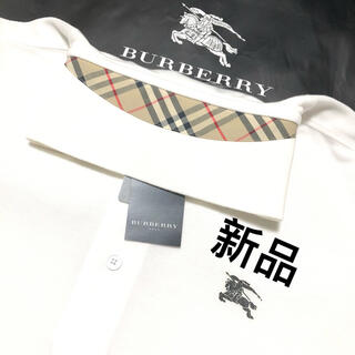 BURBERRY - 新品 バーバリーゴルフ長袖ポロシャツ L