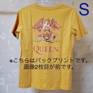 ジーユー(GU)の◆ GU QUEEN グラフィックT ライトオレンジ S(Tシャツ(半袖/袖なし))