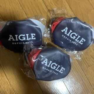 AIGLE - GLOW 付録 AIGLE コンパクトに収納できるくるくるシリコンボトル 3個