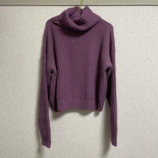 GRL - 【5/24まで】タートルニット セーター