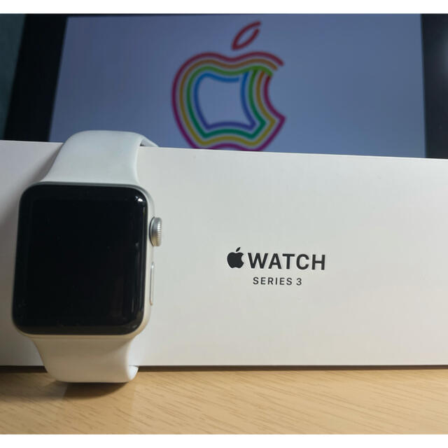 Apple Watch(アップルウォッチ)のApple Watch series 3 メンズの時計(腕時計(デジタル))の商品写真
