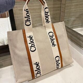 即購入OK☆Chloe クロエ woody L サイズ トートバッグ☆