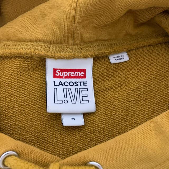 Supreme(シュプリーム)のsupreme lacoste コラボパーカー メンズのトップス(パーカー)の商品写真