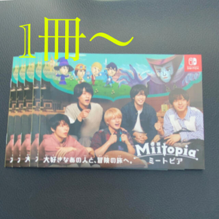 Nintendo Switch - ミートピア パンフレット