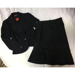 ヴィヴィアンウエストウッド(Vivienne Westwood)のサイズ1と3  ブラック系 ジャケット&マーメイドスカート セットアップスーツ(スーツ)