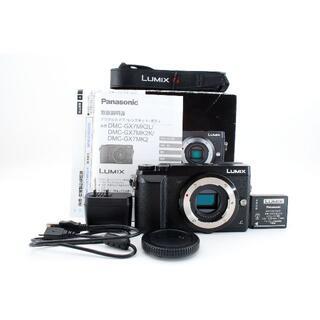 パナソニック(Panasonic)のPanasonic DMC-GX7MK2 ブラック 【元箱付・初期付属品完備】(コンパクトデジタルカメラ)