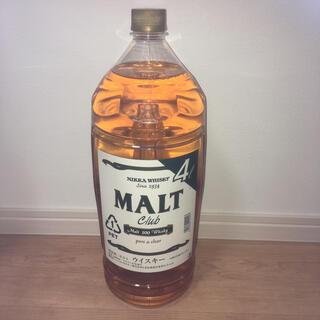 ニッカウイスキー(ニッカウヰスキー)のニッカ モルトクラブ 4L   終売品(ウイスキー)