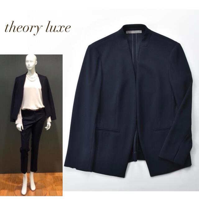 Theory luxe(セオリーリュクス)の定価42,900円 セオリーリュクス LIFT DONNA ジャケット レディースのジャケット/アウター(ノーカラージャケット)の商品写真