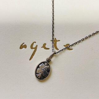 agete - アガット  agete シルバーネックレス プラチナシルバー pt200