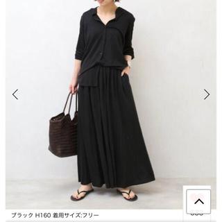 DEUXIEME CLASSE - Deuxieme Classe J-LINEN シャツ&ロングスカート