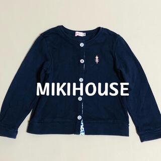 mikihouse - ミキハウス MIKIHOUSE 長袖 カーディガン 100
