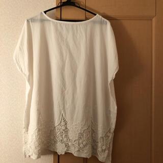 コーエン(coen)のコーエン 裾刺繍チェニックブラウス(シャツ/ブラウス(半袖/袖なし))