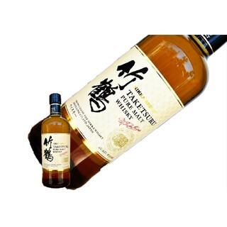 ニッカウイスキー(ニッカウヰスキー)の数量限定ジャパニーズウイスキー ニッカ 竹鶴 ピュアモルト 2本②(ウイスキー)