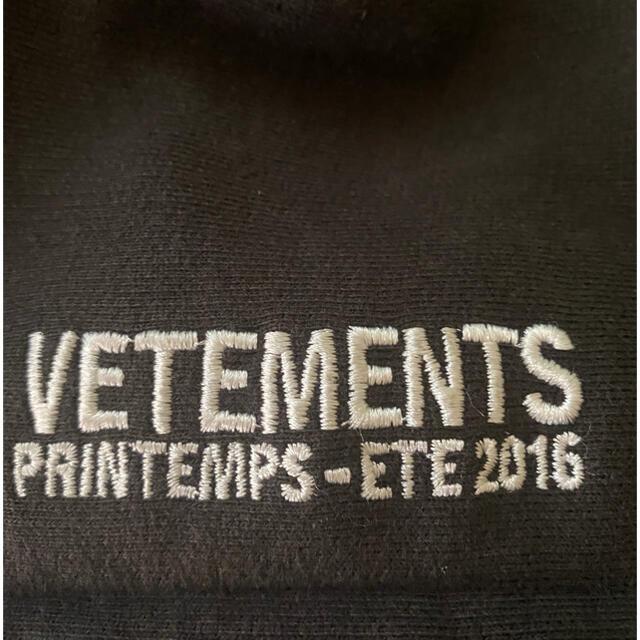 Balenciaga(バレンシアガ)の【極美品】vetements タイタニック パーカー Sサイズ メンズのトップス(パーカー)の商品写真