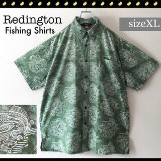 Columbia - REDINGTON★ノースウエスト釣具ブランド★フィッシングシャツ★タイダイXL