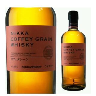 ニッカウイスキー(ニッカウヰスキー)の貴重なジャパニーズウイスキー ニッカカフェグレーン 2本(ウイスキー)