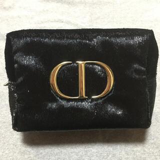 Christian Dior - 新品未使用 Dior ディオール ポーチ ノベルティ クリスマス 黒 ブラック