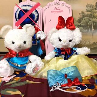 ディズニー(Disney)のディズニーストア/☆ユニベア☆スノーホワイト・白雪姫セット(ぬいぐるみ)