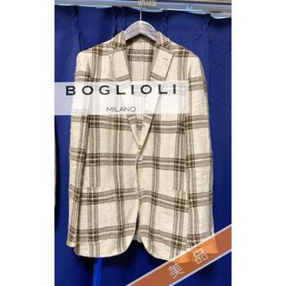 ボリオリ(BOGLIOLI)の11.8万↑ Boglioli-DOVER-silk混合2種 size 48(テーラードジャケット)