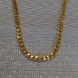 ゴールドカラーネックレス