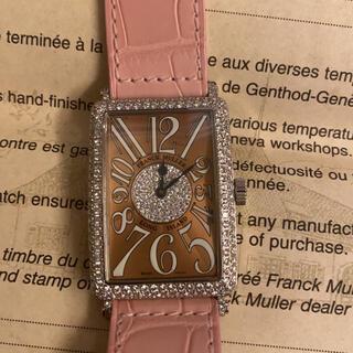 フランクミュラー(FRANCK MULLER)のフランクミュラー FRANCK MULLER ロングアイランド 純正ダイヤ(腕時計(アナログ))