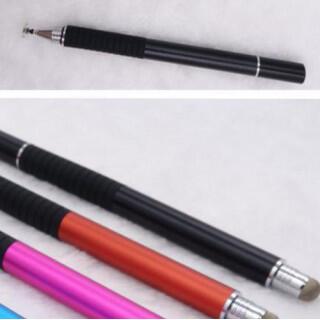 ブラック タッチペン 絵画ペン タブレット スタイラスペン スマートフォン(その他)