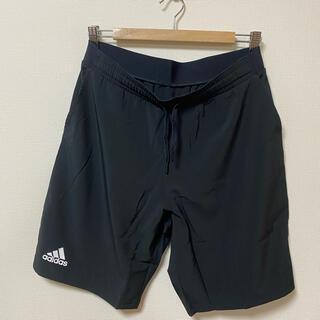 アディダス(adidas)の新品 アディダス ハーフパンツ ブラック Oサイズ(ウェア)
