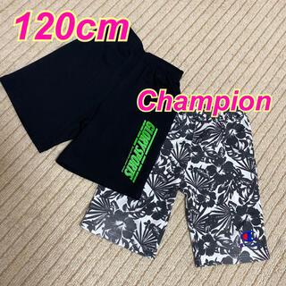 Champion - 【120cm】Champion★ジャージ★ハーフパンツ★半ズボン★黒★ブラック