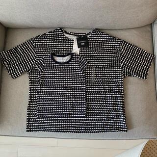 marimekko - マリメッコ Tシャツ 親子 リンク S 12-18m セット