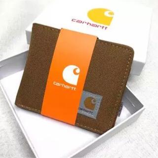 カーハート(carhartt)の箱あり カーハート Carhartt 財布 ウォレット ブラウン(折り財布)