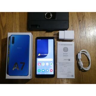 Galaxy - Galaxy A7 64GB 楽天 本体 SIMフリー手帳型ケース付