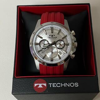 TECHNOS - テクノス TECHNOS 腕時計 クロノグラフ t8a28ss クオーツ