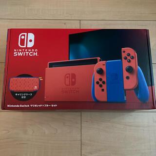 Nintendo Switch - ニンテンドースイッチ 任天堂Switch マリオレッド×ブルー 新品 本体