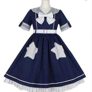 Angelic Pretty - アンジェリックプリティ○ Star Showerワンピース○コン