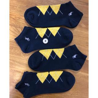 Ralph Lauren - 新品ポロラルフローレン メンズソックス 靴下 4足セット515