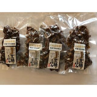 明光様専用 黒糖ごぼうせんべい2p 黒糖にんにく味噌2p(その他)