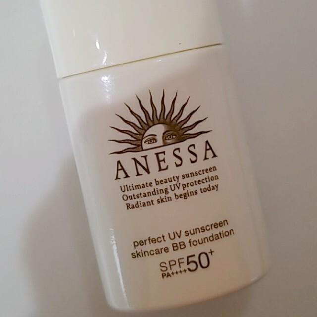 ANESSA(アネッサ)の2回使用のみ★ANESSAアネッサパーフェクトUVスキンケアBBファンデーション コスメ/美容のベースメイク/化粧品(ファンデーション)の商品写真