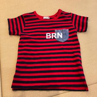 ブランシェス(Branshes)のBRANSHES ボーダー Tシャツ 130(Tシャツ/カットソー)