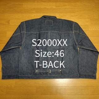 ウエアハウス(WAREHOUSE)の① Size:46 T-BACK DEAD STOCK BLUE S2000XX(Gジャン/デニムジャケット)