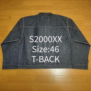 ウエアハウス(WAREHOUSE)の② Size:46 T-BACK DEAD STOCK BLUE S2000XX(Gジャン/デニムジャケット)