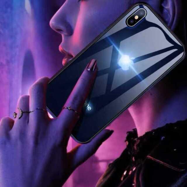 人気ランキング上位??LED発光 6らカラー 光るiPhoneケース? スマホ/家電/カメラのスマホアクセサリー(iPhoneケース)の商品写真